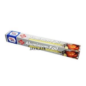 Harga aluminium foil klin pak pembungkus makanan aluminium 45 cm x 8 | HARGALOKA.COM