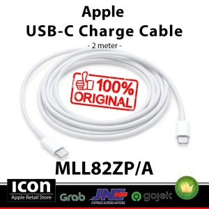 Harga surabaya original mll82zp a apple usb c charge cable 2 | HARGALOKA.COM