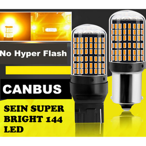 Harga lampu led t20 7440 144 led super bright lampu led sein super terang     HARGALOKA.COM