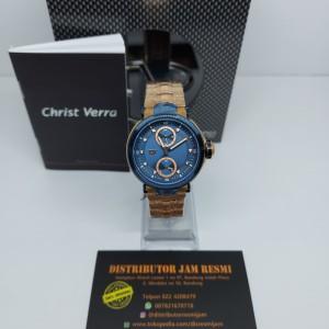 Harga jam tangan christ vera cv c 80138l 1j blu garansi resmi 12 | HARGALOKA.COM