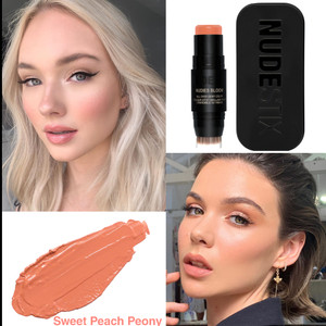 Harga nudestix bloom all over dewy color blush   sweet peach | HARGALOKA.COM