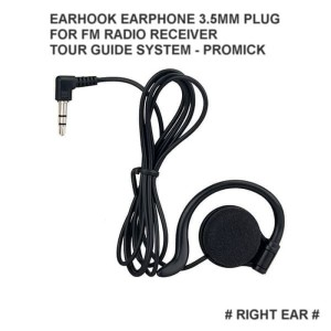 Harga earhook earphone 3 5mm plug for tour guide system tgs radio | HARGALOKA.COM