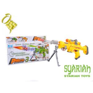 Harga pistol baterai sniper bergetar lampu dan suara tembakan ada laser   | HARGALOKA.COM
