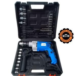 Harga alat mesin bor impact drill 13mm mesin bor set beton   HARGALOKA.COM