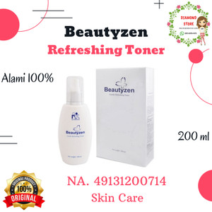Harga beautyzen refreshing toner 200ml kk indonesia ori 100 | HARGALOKA.COM