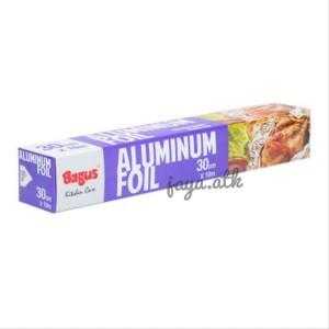 Harga aluminium foil makanan bagus pembungkus makanan 30 cm x 10 m | HARGALOKA.COM