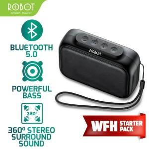 Harga robot speaker bluetooth 5 0 mini portable support micro sd amp usb   HARGALOKA.COM