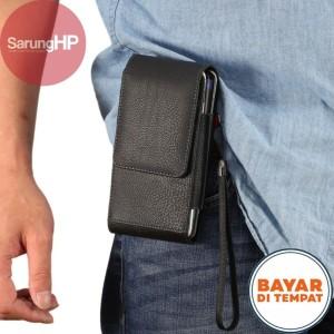 Harga sarung dompet tas tempat hp pinggang kulit 2 hp tali pegangan 5 5 | HARGALOKA.COM