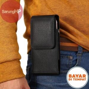 Harga sarung dompet tas tempat hp pinggang kulit tali pegangan 5 5 inch   | HARGALOKA.COM