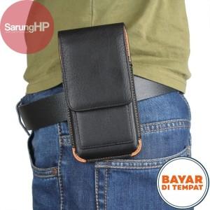 Harga sarung dompet tas tempat hp pinggang kulit penjepit rotary 5 inch   | HARGALOKA.COM