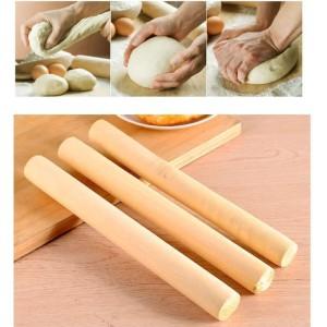 Harga 30cm tebal rolling pin mini penggilas adonan kayu ukuran model | HARGALOKA.COM
