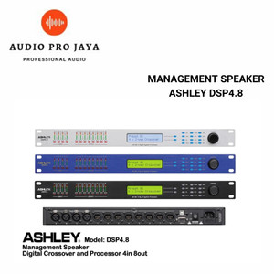 Harga management speaker ashley dsp4 8 dsp 4 8 4 in 8 out | HARGALOKA.COM