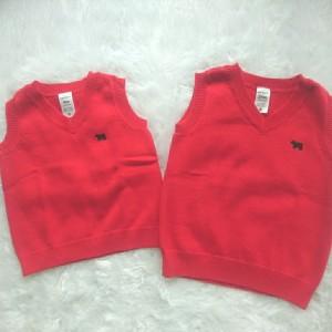 Harga baju anak bayi vest rompi branded carter 39 s red 9 24 month   9 12   HARGALOKA.COM