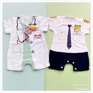Harga hansop jumper bayi usia 3 6 bulan piteku seragam dokter dan pilot   | HARGALOKA.COM