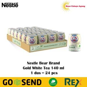 Harga 1 dus 24 pcs susu beruang bear brand white tea teh putih 140 | HARGALOKA.COM