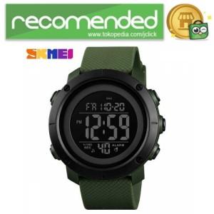 Harga skmei jam tangan digital pria   1434   warna hijau | HARGALOKA.COM