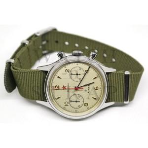 Harga seagull 1963 mechanical st19 chronograph movement airforce pilot watch   sapphire | HARGALOKA.COM