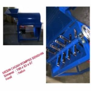 Harga mesin pencacah kompos 19 pisau dinamo 1 5 hp free ongkir   HARGALOKA.COM