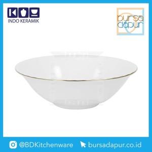 Harga bursa dapur indo keramik gold lining mangkuk mangkok 7 34 mk 7   HARGALOKA.COM