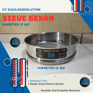 Harga saringan besar sieve test diameter 12 inc   ziaulhaq   HARGALOKA.COM
