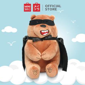 Harga miniso boneka mainan bantal karakter we bare bears lucu toy duduk   | HARGALOKA.COM