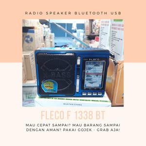 Harga radio speaker bluetooth usb portable fleco | HARGALOKA.COM