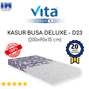 Harga kasur tidur busa deluxe single 200x90x15 merek vita produk asli | HARGALOKA.COM