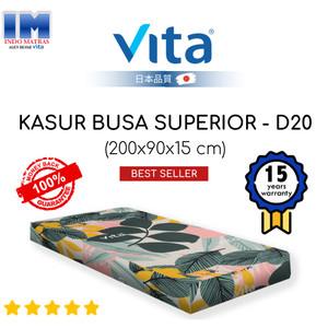 Harga kasur tidur busa superior single 200x90x15 merk vita produk ori | HARGALOKA.COM