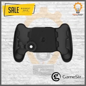 Harga gamesir f1 gamepad handgrip smartphone mobile legend pubg aov   HARGALOKA.COM