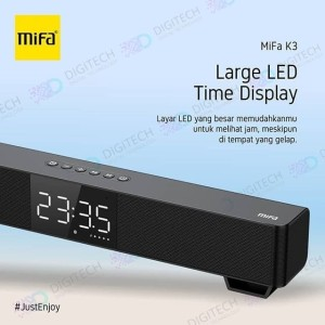 Harga mifa k3 soundbar speaker wired amp wireless bluetooth 5 tws   | HARGALOKA.COM