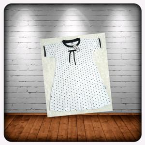 Harga baju dress motif polkadot daster kekinian anak | HARGALOKA.COM