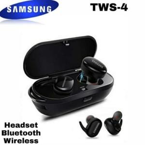 Harga headset bluetooth samsung tws 4 erphone wireless stereo best | HARGALOKA.COM