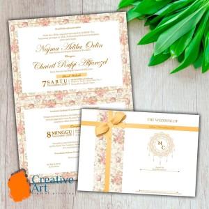 Info Undangan Pernikahan Simple Paper Plane 58 Katalog.or.id
