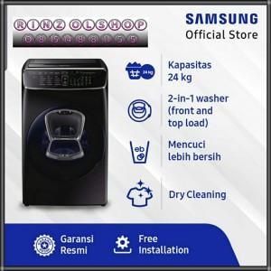 Harga mesin cuci samsung wr24m9960kv front loading flexwash 21 kg 3 5 | HARGALOKA.COM