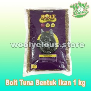 Harga makanan kucing bolt repack 1kg murah tuna cat   HARGALOKA.COM