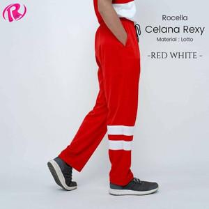 Harga celana rexy by rocella bawahan olahraga   workout edition   red white | HARGALOKA.COM