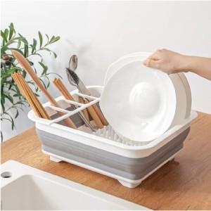 Harga rak pengering piring plastik bisa di lipat rak | HARGALOKA.COM