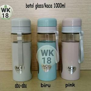 Harga botol minum terbuat dari kaca tempat air minum panas dan dingin | HARGALOKA.COM
