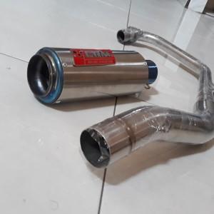 Harga knalpot racing fullsytem vixion r15 gsx150 | HARGALOKA.COM