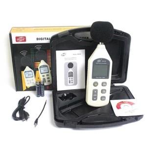 Harga sound level meter benetech gm1356 data logger tester usb decibel | HARGALOKA.COM