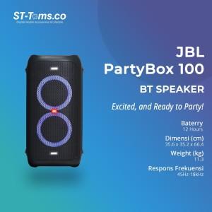 Harga jbl partybox 100 party box 100 bluetooth speaker premium high | HARGALOKA.COM