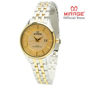 Harga new arrival mirage jam tangan original wanita silvergold   HARGALOKA.COM