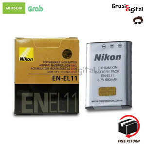 Harga baterai nikon en el11 for nikon coolpix s550 | HARGALOKA.COM