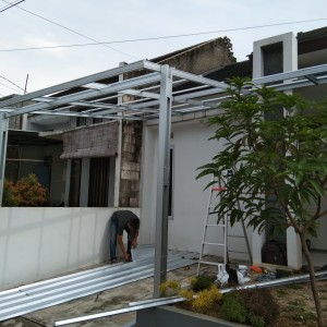 Harga canofy baja ringan dan renovasi   HARGALOKA.COM