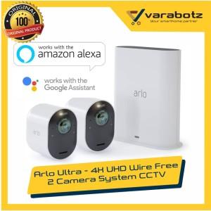 Harga arlo ultra   4k uhd wire free 2 camera system | HARGALOKA.COM