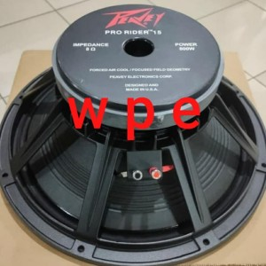 Harga speaker peavey 15 inch pro rider full range 15 in | HARGALOKA.COM