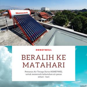 Harga honeywell pemanas air tenaga matahari surya 150l pressurized   HARGALOKA.COM