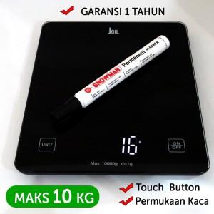 Harga timbangan dapur digital led maks 10 kg akurasi 1 gram   joil | HARGALOKA.COM