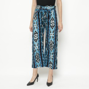 Harga winggo elina batik kulot   biru | HARGALOKA.COM