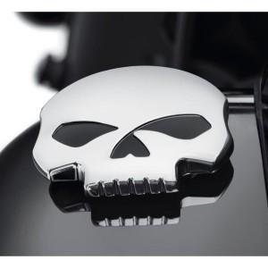 Harga tutup tangki harley sportster 48 883 dyna softail skull tank cap | HARGALOKA.COM